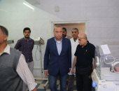 صور .. محافظ قنا يحيل 34 طبيبا وممرضا واداريا للتحقيق بمستشفى فرشوط المركزى