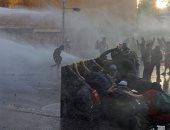مظاهرات تشيلى لا تتوقف..استمرار أعمال  العنف والشرطة تواجه المتظاهرين بالغاز