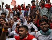 احتجاجات فى الهند تطالب بمحاكمات سريعة فى جرائم الاغتصاب