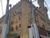 الآثار ترمم مسجد محمد على بالشرقية وتزيل أعمدة إنارة شوهت واجهته (صور)