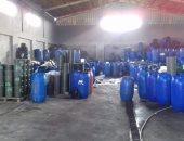ضبط مصنع مخللات بدون ترخيص فى الإسكندرية