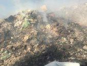 شكوى من تراكم القمامة بجوار مجمع مدارس بالوراق العرب