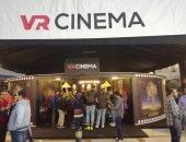 """إقبال كثيف على أفلام """"سينما الواقع الافتراضى"""" بمهرجان القاهرة السينمائى"""