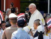 البابا فرنسيس فى ضيافة كبار المسئولين بتايلاند