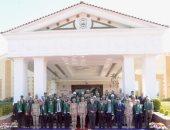 """لجنة """"الدفاع والأمن القومى"""" بالبرلمان تزور الجيش الثالث الميدانى"""