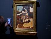 شاهد.. معرض لوحات ليوناردو دافنشى بمتحف اللوفر احتفالا بالذكرى الـ500 لرحيله