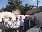 """صور.. أبطال """"إيلات"""" يزورون قبر الشهيد البرقوقى بدسوق كفر الشيخ"""