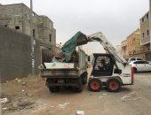 صور.. نظافة الطائف بالسعودية تزيل 6700 طن من مخلفات البناء والهدم