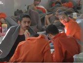 """فيديو.. جولة داخل سجن سورى يضم عناصر التنظيم الإرهابى """"داعش"""""""