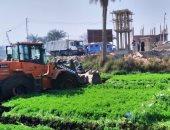 محافظ الجيزة: استرداد 3 أفدنة أراضى أملاك الدولة بقرية وردان