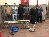 القبض على 6 أشخاص أثناء تنقيبهم عن الآثار بالسيدة زينب