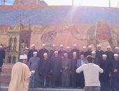 قافلة علماء الأوقاف تزور الآثار الدينية بسانت كاترين وجبل التجلى وتشيد بعظمة مصر وحضارتها