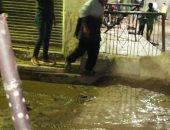 شكوى من انتشار مياه الصرف الصحى بشارع الهدى بمنطقة بشتيل