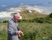 الأمير تشارلز فى زيارة لمستعمرة شوت ووتر فى نيوزيلندا
