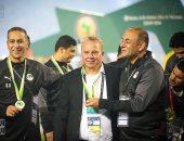شوقى غريب : أقدم الشكر للإعلام المصري و ونبدأ الاستعدادا لأكبر تانى بطولة عالمية
