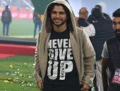 على طريقة صلاح.. محمد محمود يحتفل مع المنتخب الاولمبي