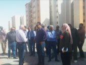 """مساعد نائب رئيس""""هيئة المجتمعات العمرانية""""يتفقد مشروعات مدينة المنيا الجديدة"""