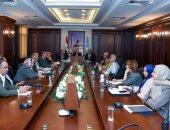 نائب محافظ الإسكندرية يتابع مشروعات شركة الصرف الصحى