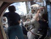 أول رائد فضاء إيطالى بالمحطة الدولية يبدأ ثانى رحلة من سلسلة رحلات الفضاء