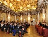 اتحاد مشجعى نادى روما يمنح وسام فارس روما الأول لسفير مصر بإيطاليا