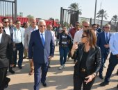 محافظ الدقهلية يستقبل وزيرة الاستثمار ويتفقدان المنطقة الاستثمارية بميت غمر