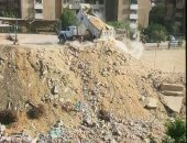 قارئة تشكو من تراكم مخلفات البناء بشارع مصطفى النحاس مدينة نصر