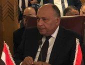"""وزير الخارجية لـ""""لجنة المتابعة الدولية"""": يجب التوصل لتسوية شاملة لأزمة ليبيا"""
