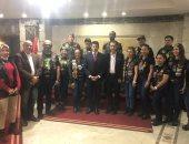وزير الرياضة يشكر فريق لاما بعد مشاركته فى سباق الدراجات النارية