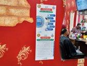 حملات توعية لأصحاب صالونات الحلاقة للحد من انتشار العدوى ..صور