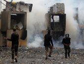 """""""سكاى نيوز"""": قوات الأمن تطلق الرصاص وقنابل الغاز لتفريق متظاهرين فى بغداد"""