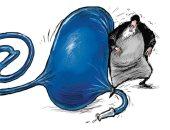 كاريكاتير الصحف السعودية.. خامنئى يغلق بالون السوشيال خوفا من انفجارها