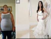 امرأة أمريكية تؤجل حفل زفافها 18 عاما بسبب وزنها
