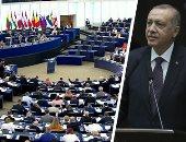 """فيديو.. """"أردوغان يواصل سياسة الابتزاز ضد الغرب"""".. الرئيس التركى يلهث وراء المال الغربى ويبتز الناتو لتبرير جرائمه فى سوريا.. ويمول أكثر من 2000 مسجد حول العالم لتبرير جرائمه ونشر سياساته الإرهابية"""