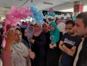 """صور.. طلاب صيدلة طنطا ينظمون معرض """"سوبر ماما"""""""