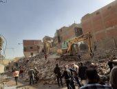 القاهرة تبدأ إزالة 63 عقارا بمنطقة الرزاز فى منشأة ناصر للخطورة الجيولوجية