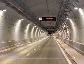 أول صور لأنفاق قناة السويس بعد افتتاحها رسميا