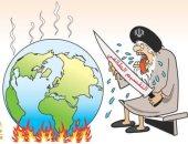 كاريكاتير صحيفة سعودية.. النظام الإيرانى يسعى للتقسيم الطائفى فى الوطن العربى