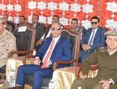 صور.. محافظ سوهاج يشهد محاكاة لتعرض محطة محولات كهرباء لهجوم إرهابى