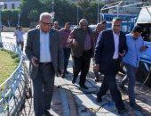 صور .. سكرتير عام الإسكندرية يتفقد أحياء شرق ووسط ويشدد على رفع الإشغالات