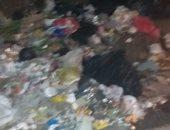 أمام مستشفى دار الشفا بالعباسية.. شكوى من تراكم القمامة