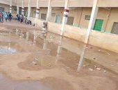شكوى من غرق مدرسة الابتدائية بالسعيدية فى الشرقية بمياه الصرف الصحى