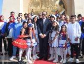 الرئيس السيسي يطلق منظومة التأمين الصحى فى بورسعيد
