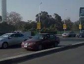 فيديو.. انتظام المرور أعلى كوبرى أكتوبر من الإسعاف حتى المهندسين