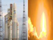 """نجاح إطلاق القمر الصناعى المصرى """"طيبة -1"""".. القمر ينفصل عن الصاروخ بعد 34 دقيقة.. ويستغرق عدة أيام حتى يصل لموقعه على بعد 36 ألف كم متر من الأرض.. ويدخل الخدمة بعد 3 شهور من إطلاقه (فيديو وصور)"""