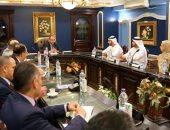 صور.. وفد من شرطة دبى يزور مقر الإدراة العامة لمكافحة المخدرات
