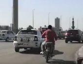 فيديو.. سيولة مرورية أعلى كوبرى أكتوبر من التحرير حتى المهندسين