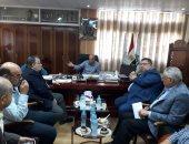 رئيس جهاز دمياط يلتقى أعضاء جمعية المستثمرين لبحث مشكلاتهم