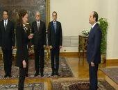 شاهد.. لحظة آداء نواب المحافظين الجدد اليمين الدستورية أمام الرئيس السيسي