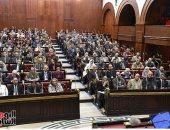 """صور.. """"خطة البرلمان"""" تُخطر وزارة التعليم العالى بمطالب موازنة البرامج والأداء"""