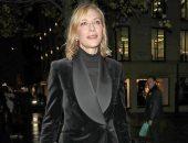 كيت بلانشيت ترتدى جاكت قطيفة من تصميم Ralph Lauren بـ1640 جنيه استرلينى